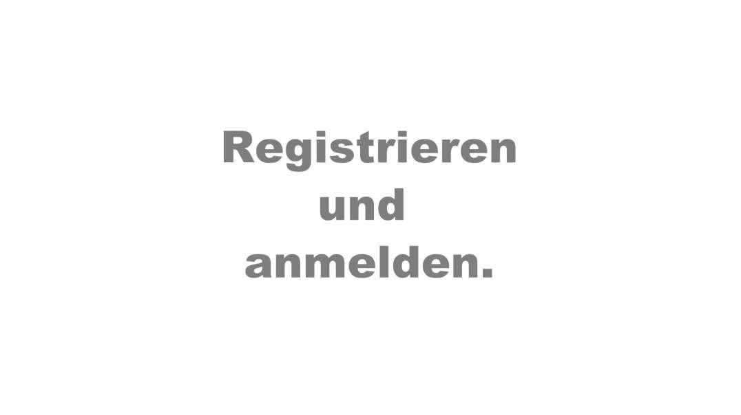 Registrieren und anmelden - so geht's!