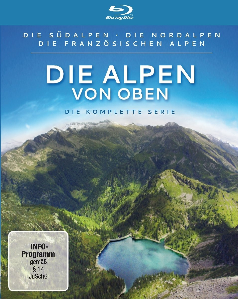 Die Alpen von oben - Die kompl..