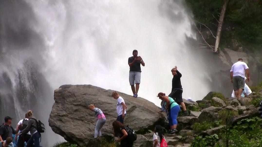 Der größte Wasserfall Europas