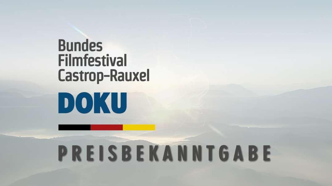 Bundesfilmfestival Doku Castrop-Rauxel 2021 - Bekanntgabe der Preise
